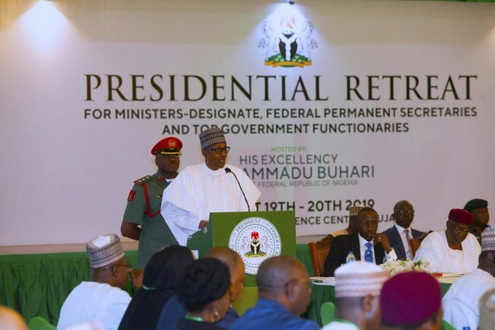 Full List Of Buhari's 43 Ministers And Their Portfolios