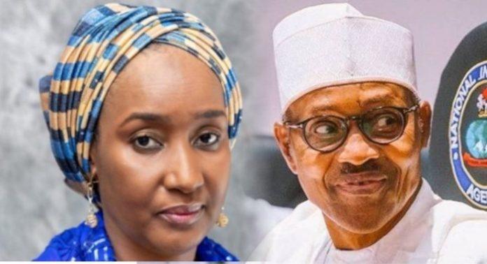 President Buhari Places 'Rumoured Wife' Under Close Supervision