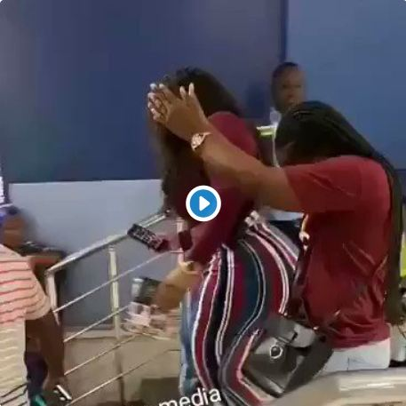 Lady With Huge Ass Causes Stir At Airport (Video+Photos)