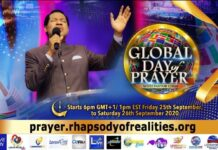 Global Day Of Prayer With Pastor Chris Kicks Off This Friday